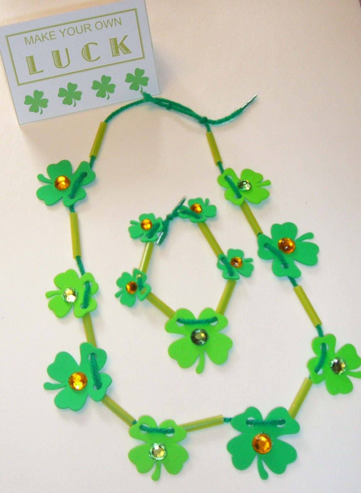 Shamrock Necklace copy